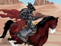 لعبة مغامرات فارس الحصان