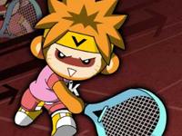 لعبة تنس اطفال الشوارع