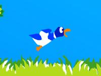 لعبة صيد البط بالبندقية