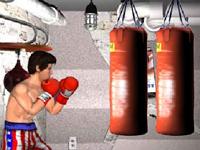 لعبة الملاكمة القوية