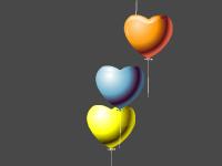 لعبة ضرب البالونات