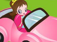 لعبة قيادة الفتاة الصغيرة