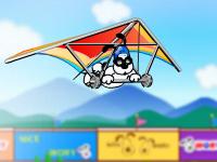 لعبة طيران المظلة
