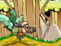 لعبة مغامرات هروب رجل الكهف