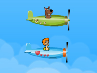 لعبة طائرات سكوبي دو