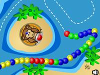 لعبة مغامرات زوما القرد