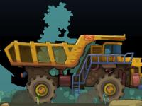لعبة مغامرات شاحنة المنجم