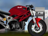 لعبة تعديل الدراجات النارية
