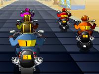 لعبة سباق دراجات هارلي