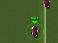 لعبة رياضية كرة القدم الامريكية