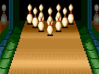 لعبة كلاسيكية والبولينج الممتعة