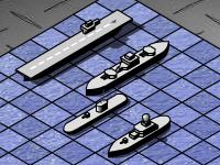 لعبة كلاسيكية وترتيب السفن والطرادات