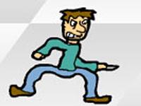 لعبة سرعة ضرب المارة الخطيرة