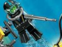 لعبة اكشن المركبة المائية والثعابين الخطيرة