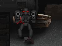 لعبة قتال حرب الروبوتات في المدينة المظلمة