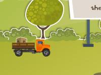 لعبة سيارات توصيل الصناديق الجديدة