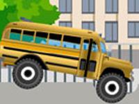 لعبة سيارات الباص المتوحش الخطيرة