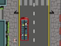 لعبة سيارات باص لندن الجديد
