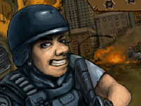 لعبة اكشن الجندي في المنطقة الحرب