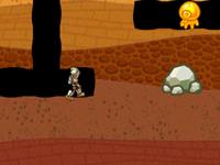 لعبة مغامرات فتى الدرع ووحوش أعماق الأرض