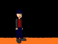 لعبة مغامرات فتى البسكويت والأوجه المتساقطة