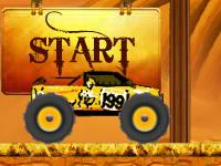 لعبة سيارات سباق سيارات وحوش الصحراء القوية والسريعة