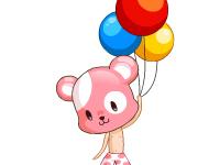 لعبة البالونات الرائعة