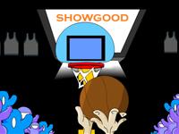 لعبة رياضة وكرة السلة المتحركة