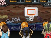 العاب رياضية لعبة رياضية لعبة رمي كرة السلة