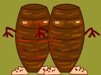 العاب مغامرات لعبة مغامرات قنص وجبات الكباب المشوية