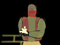 لعبة مغامرات واطلاق النار على الارهابيين