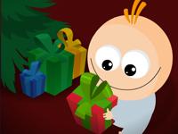 لعبة قلعة بابا نويل وحماية الهدايا من الأشرار السارقين