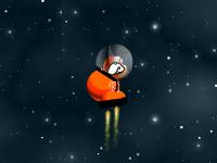 لعبة ناني الفضائي والقفز على الصخور الفضائية