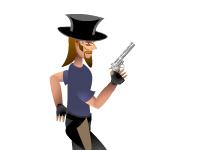 العاب لعبة مغامرات والطلقات السريعة من المسدس