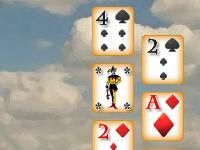 لعبة التخلص من أوراق الكوتشينة ذات الأرقام الصغيرة