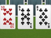 لعبة جمع كروت الكوتشينة الصعبة بالأرقام المتقاربة