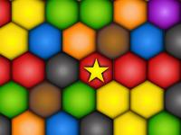 لعبة تحطيم كرات التصاعد الملونة