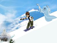 لعبة بن تن والهروب من شبح الجليد