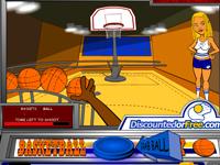 لعبة رياضية كرة السلة الرائعة الجديدة