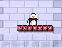 لعبة البطريق الصغير المتساقط وجمع الجواهر