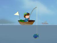 لعبة صيد السمك الرائع