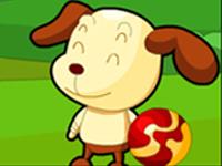 لعبة الكلاب المساندة للبقرة السمينة