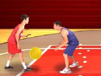 لعبة احراز اهداف كرة السلة
