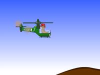 لعبة مغامرات طائرة الهولكبتر الخطيرة