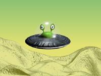 لعبة مغامرات والمركبة الفضائية الخطيرة