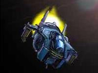 لعبة مغامرات الطائرة الفضائية الخطيرة
