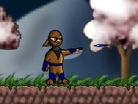 لعبة قتال والنينجا والقتال العنيف
