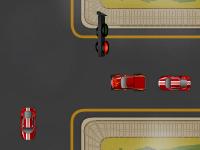 لعبة سيارات والتحكم الكامل في عمليات السير المرورية