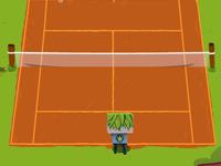 لعبة تنس اولاد ضد بنات