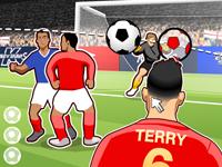 لعبة رياضية وكرة القدم العالمية الرائعة